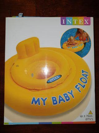 flotador intex
