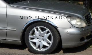 PASOS DE RUEDA CROMADOS MERCEDES CLASE S W220