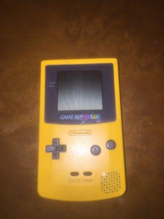 Game Boy COLOR + Pokémon Edicion Oro