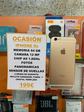 ¡OFERTA! IPhone 6s 64Gb Gold