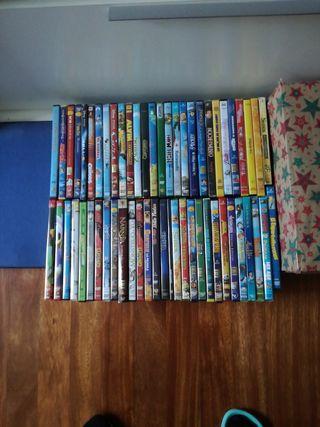 Películas, dvds.