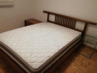Cama completa (estructura, colchón y cabecero)