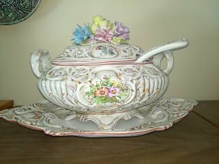 sopera cerámica