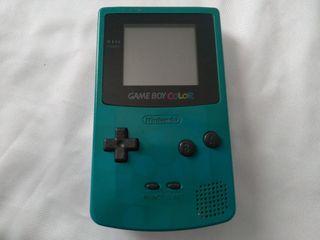 Nintendo Game boy color turquesa