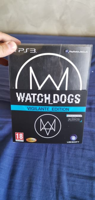watch dogs edicion vigilante ps3