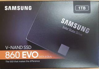 Disco duro SSD a ESTRENAR Samsung 860 EVO Basic 1T