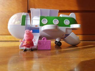 Avión Peppa Pig vacaciones