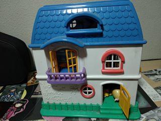 Casa muñecas plegable preciosa