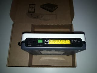 Router Movistar integrado HGU fibra óptica