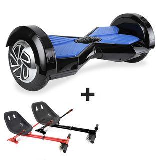 Hoverboard i8 + Hoverkart (Caja Mal estado)