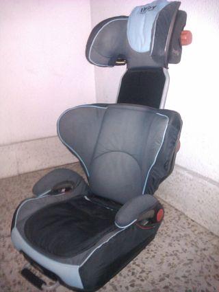 Silla coche JANE INDY con ISOFIX (15-36 kg).REGULA