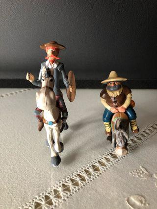 Figuras Don Quijote y Sancho