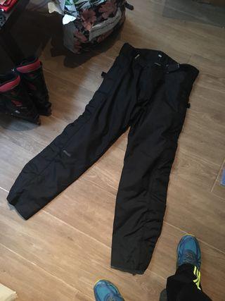 Pantalon moto invierno