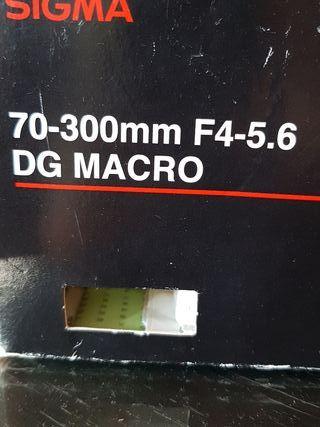 objetivo sigma para Nikon 70-300mm