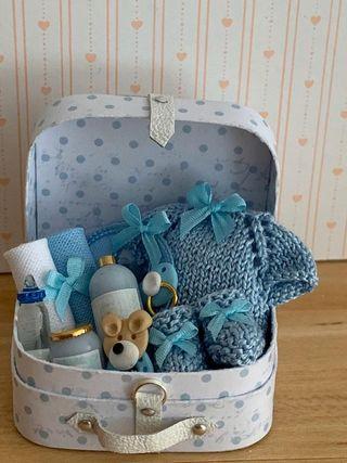 Maletín dormitorio infantil casa de muñecas