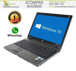 """Portátil Hp EliteBook 8740W, 17"""" / i7 / Gráfica /"""
