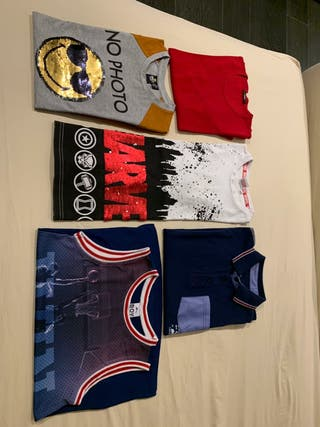 camisetas varias