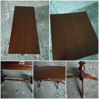 Mesa baja salón plegable vintage