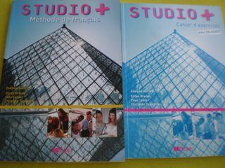 Libros de francés Studio+