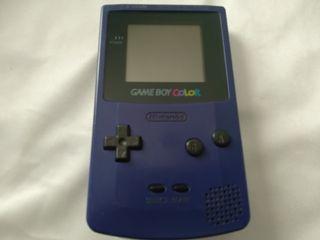 Nintendo Game boy color morada