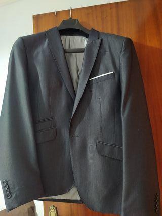 traje chaqueta