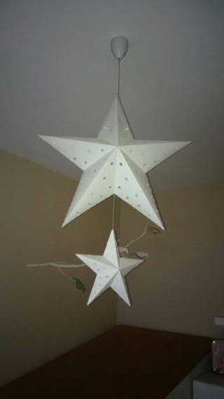 lámpara infantil estrella