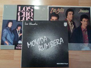 Lote 3 vinilos Rumba flamenco
