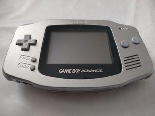 Nintendo Game boy advance plata