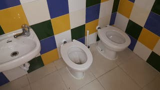 wc y lavabo para guarderia