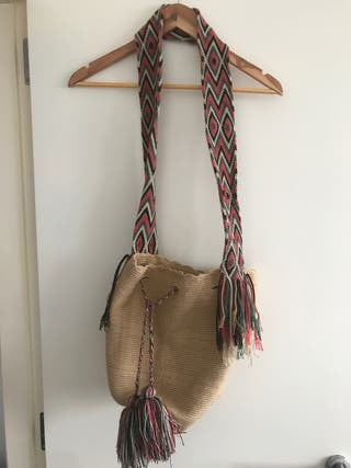 Bolso colombiano Wayuu Artesanal