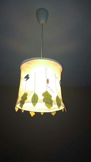 lámpara infantil de techo
