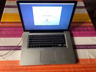 Ordenador portátil Mac Book Pro 15 Pulgadas