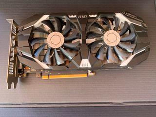 Tarjeta gráfica Nvidia GTX 1060 3gb GDDR5