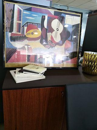 Lámina enmarcada Guggenheim Picasso