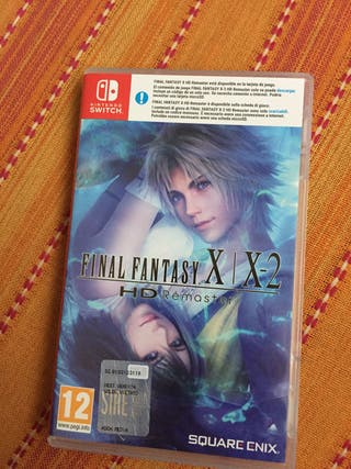 Final Fantasy X Nintendo switch