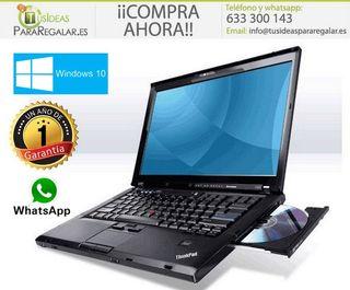 Portátil Lenovo T400, Wifi / 4Gb / Windows 7 Grat
