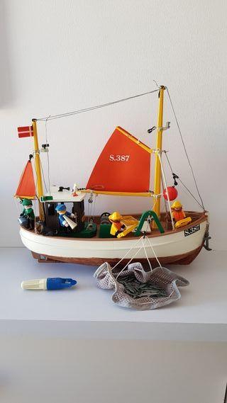 Playmobil 3551 - Barco pesquero Susanne -