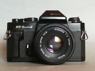 Cámara analógica RICOH KR-5 superII