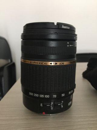 Camara canon 500D + complementos