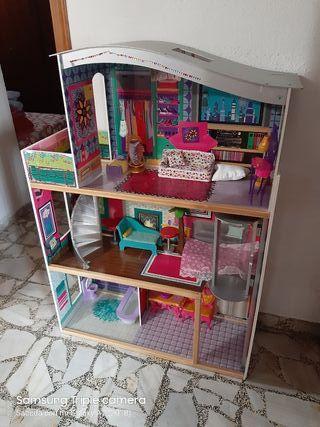 casa de muñecas tamaño barbie