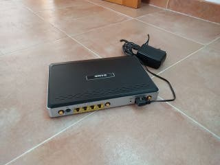 Pack Router DLink + Switch Extensión Wifi