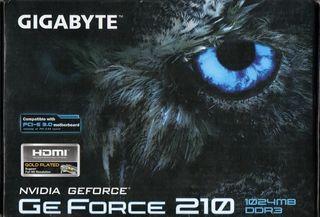 Gigabyte NVIDIA GeForce 210 - Tarjeta gráfica (PC)