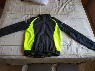 chaqueta ciclismo btt invierno