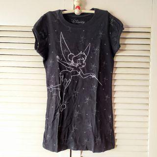 Camiseta disney oficial campanilla niña