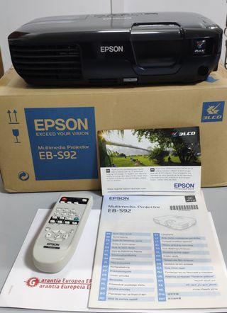 PROYECTOR EPSON EB-S92 SEMINUEVO