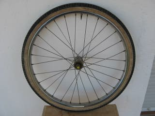 Rueda Bicicleta Paseo Plegable