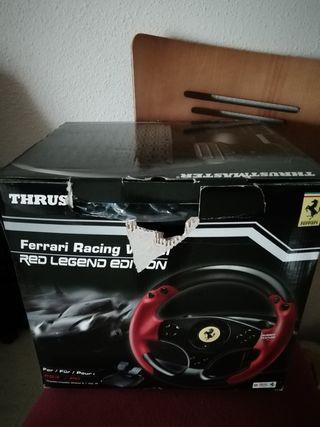 volante thrushmaster ferrari PS3 y PC