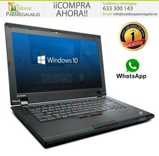 Portátil Lenovo L412, i3 / Cam / Windows 10 Gratis