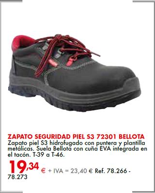 zapato seguridad piel Bellota