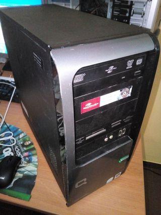 torre de ordenador pc intel dual